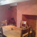 The Hafod dining room