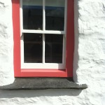 The Hafod cottage-window